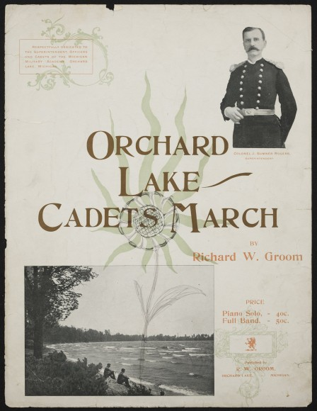 Orchard Lake Cadets March 1