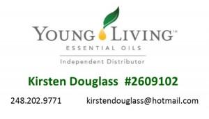 Kirsten Douglass Young Living Essential Oils